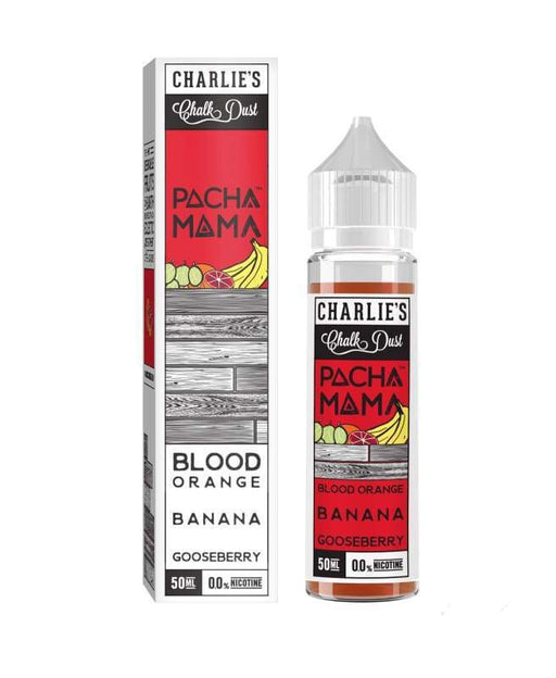 Pacha Mama Blood Orange Banana Gooseberry - 50ml shortfill