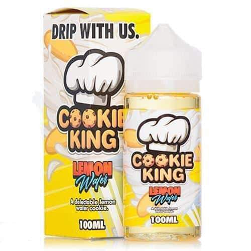 Cookie King Lemon Wafer - 100ml shortfill