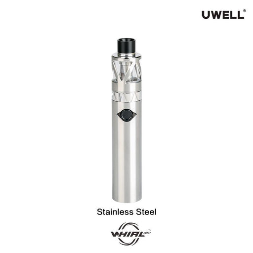 uwell whirl 20 kit stainless steel