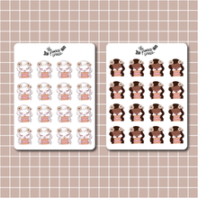 Load image into Gallery viewer, October 2020 Sticker Sheet - Primrose Collection