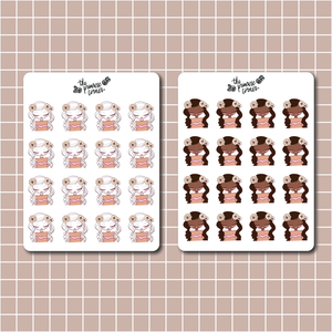 October 2020 Sticker Sheet - Primrose Collection