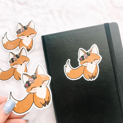 Fox Vinyl Sticker Decal - Fall into Autumn - Primrose Collection