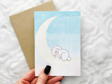 Load image into Gallery viewer, Goodnight Bunny - Greeting Card Collection