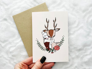 Oh Deer - Greeting Card Collection