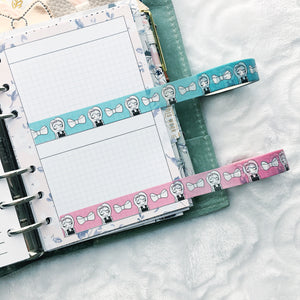 Primrose Washi Tape 2.0 - Two Colors - 15mm - Original Design - Accessories Collection