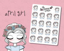 Load image into Gallery viewer, April Sticker Sheet - Primrose Collection