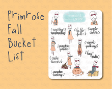 Load image into Gallery viewer, Primrose Fall Bucket List - Fall into Autumn - Primrose Collection