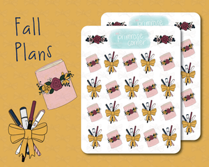Fall Plans - Fall into Autumn - Primrose Collection
