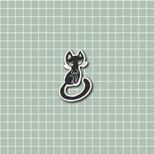 Load image into Gallery viewer, Black Cat Vinyl Sticker Decal - Halloween Collection - Primrose Collection