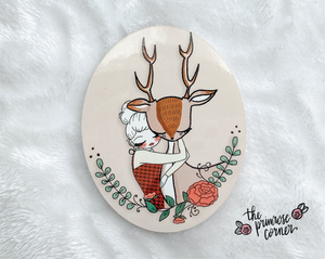 Oh Deer Sticker Decal - Fall into Autumn - Primrose Collection