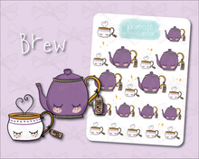 Load image into Gallery viewer, Tea Sticker Sheet - Halloween - Primrose Collection