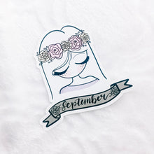 Load image into Gallery viewer, September Sticker Die Cut - Primrose Collection