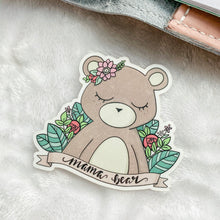 Load image into Gallery viewer, Mama Bear Vinyl Sticker Decal - Illustrated Collection