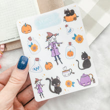 Load image into Gallery viewer, Witchy Sticker Sheet - Halloween - Primrose Collection
