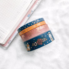 Load image into Gallery viewer, Fall into Autumn - Washi Tape Set- Champagne Foil - Accessories Collection