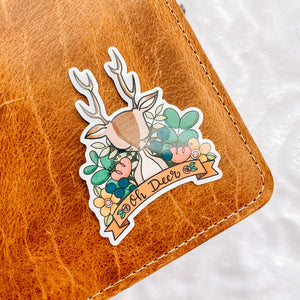 Oh Deer Vinyl Sticker Decal - Illustrated Collection