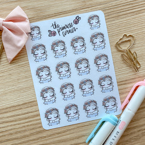 April Sticker Sheet - Primrose Collection