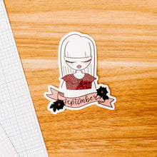 Load image into Gallery viewer, September Girl 2020 Vinyl Sticker Decal - Illustrated Collection