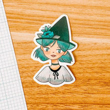 Load image into Gallery viewer, Blue Witch Vinyl Sticker Decal