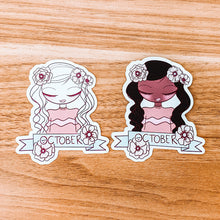 Load image into Gallery viewer, October Girl 2020 Matte Paper Sticker - Illustrated Collection