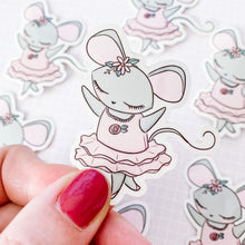 Load image into Gallery viewer, Ballet Mouse Vinyl Sticker Decal