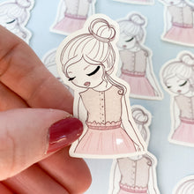 Load image into Gallery viewer, Hope Girl Vinyl Sticker Decal