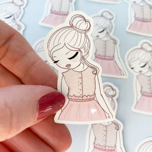 Hope Girl Vinyl Sticker Decal