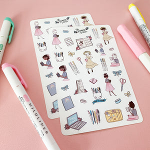 Planner Life Sticker Sheet - Planner Life Collection