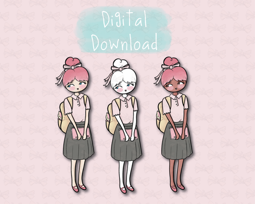 Back To School - Digital Download - Primrose Collection