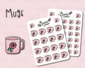 Mug Illustration - Floral - Kitchen Collection