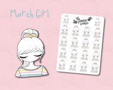 Load image into Gallery viewer, March Sticker Sheet - Primrose Collection