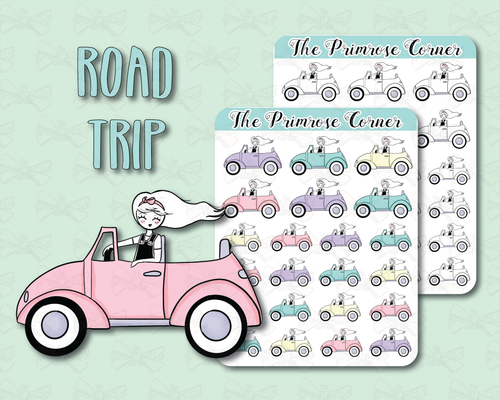 Road Trip - Primrose Illustration