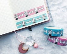 Load image into Gallery viewer, Primrose Washi Tape 2.0 - Two Colors - 15mm - Original Design - Accessories Collection