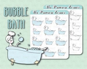 Bubble Bath - Illustrated Collection
