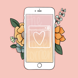Social Media Stickers - Primrose Collection