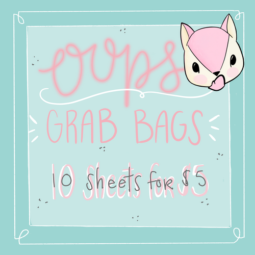 Oops Grab Bags - Not quite perfect Sheets