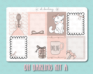 Oh Darling Weekly Kit A