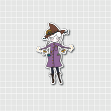 Load image into Gallery viewer, Witch Holographic Vinyl Sticker Decal - Halloween Collection - Primrose Collection