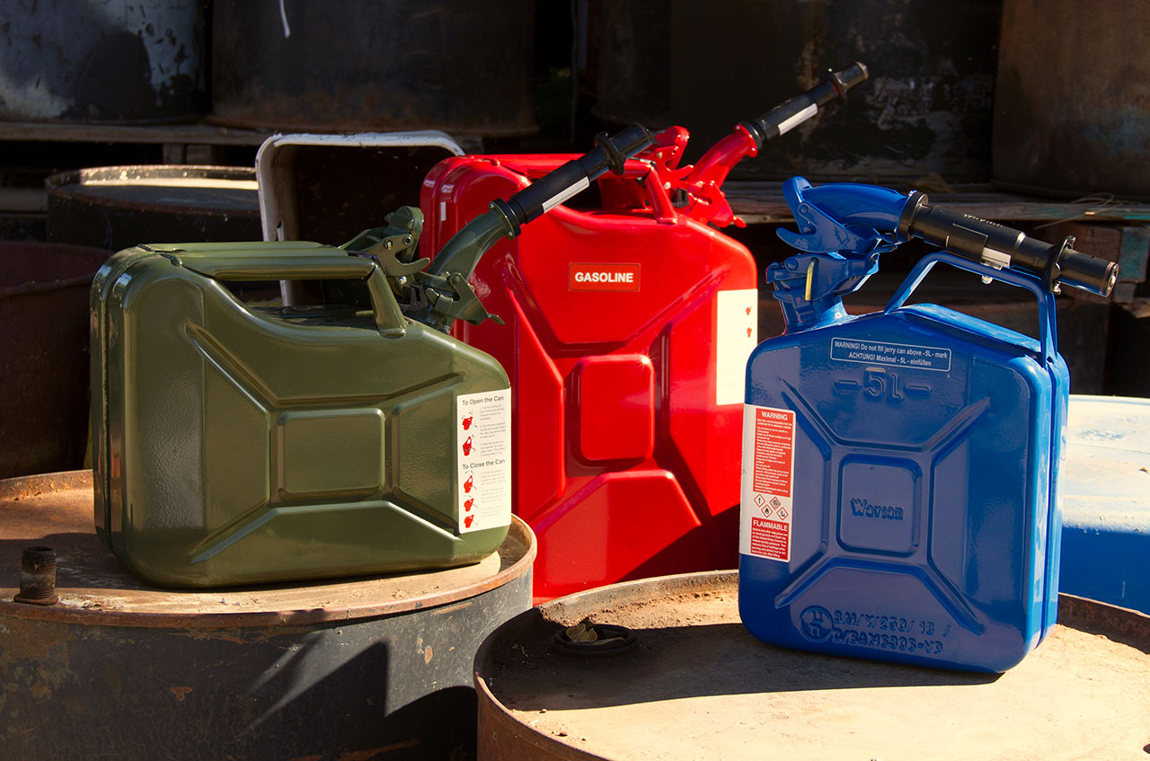 Wavian USA Fuel Cans—The original NATO Jerry Cans