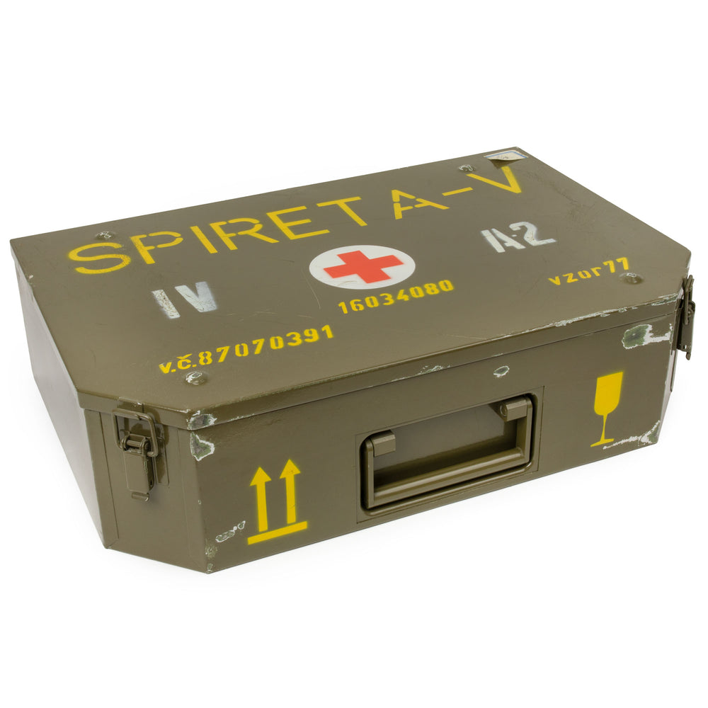 Czech Army Metal Medical Box | SPIRETA-V