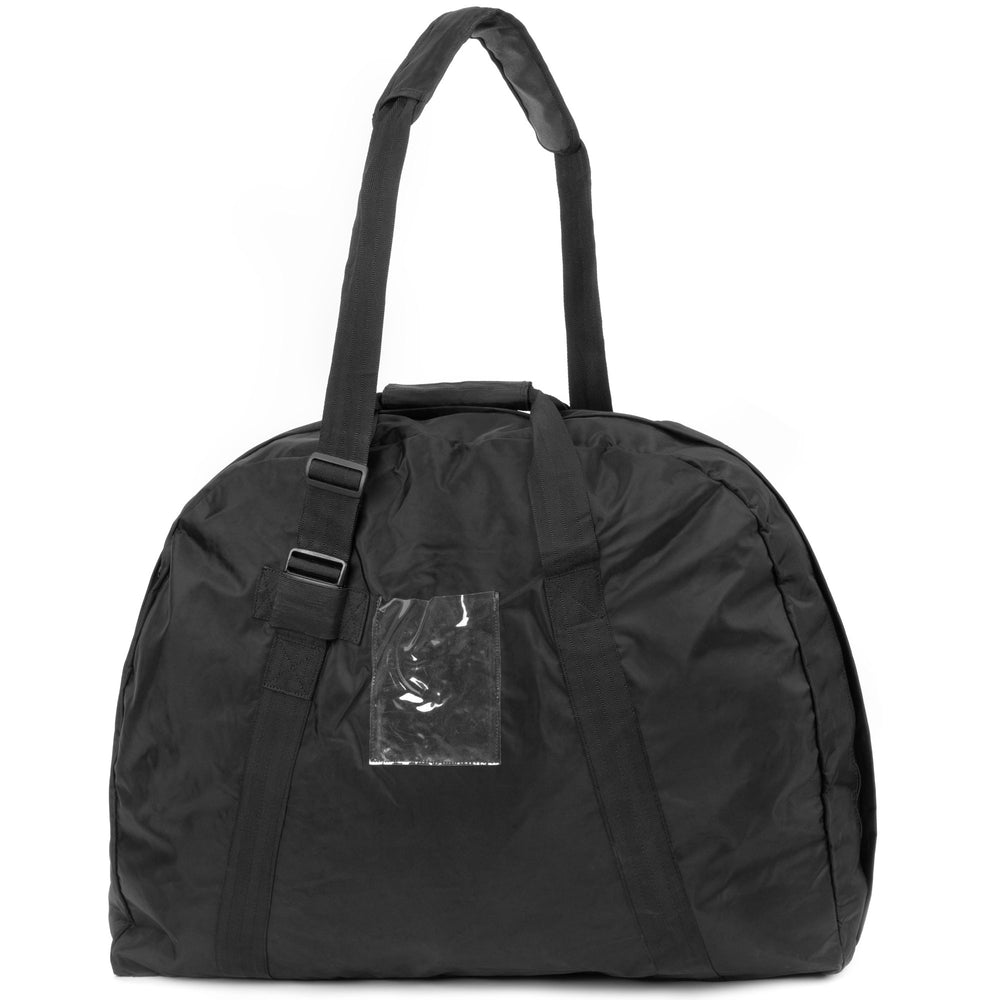 Black Vinyl XL Dutch Duffel Bag