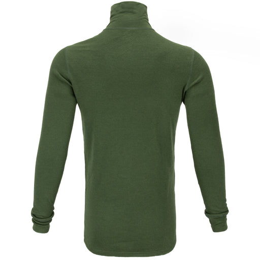 Dutch Army Woolen 1/4 Zip Long Sleeve Shirt | OD