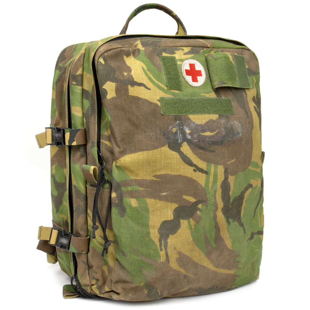 Dutch Army Woodland Used Medic Backpack