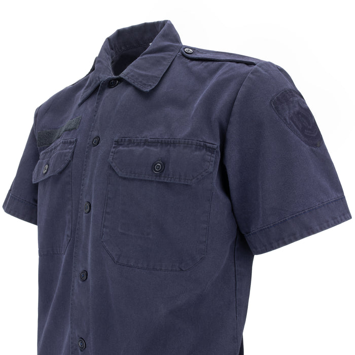 Dutch Navy Work Shirt | Short Sleeve
