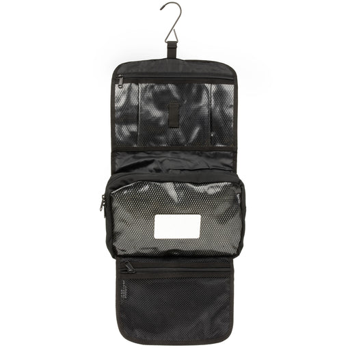 Dutch Army Black Toiletry Bag With Mirror