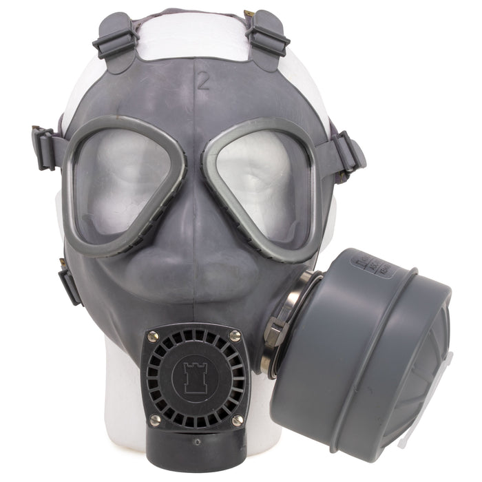 Finnish Army Gas Mask & Filter