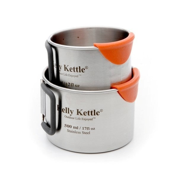 Kelly Kettle Ultimate Base Camp Kit – Stainless Steel Camp Kettle