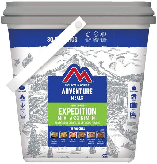 Expedition Meal Assortment Bucket | 5 Day Meal Kit