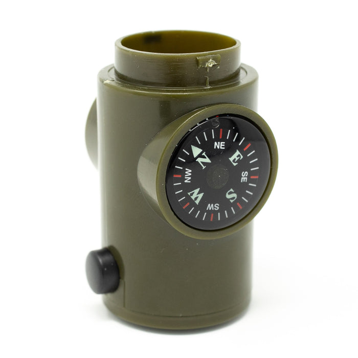 Survival Whistle 6-in-1 compass