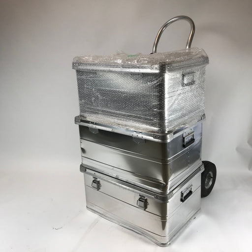 Three Medium Aluminum Storage Boxes | Scratch & Dent